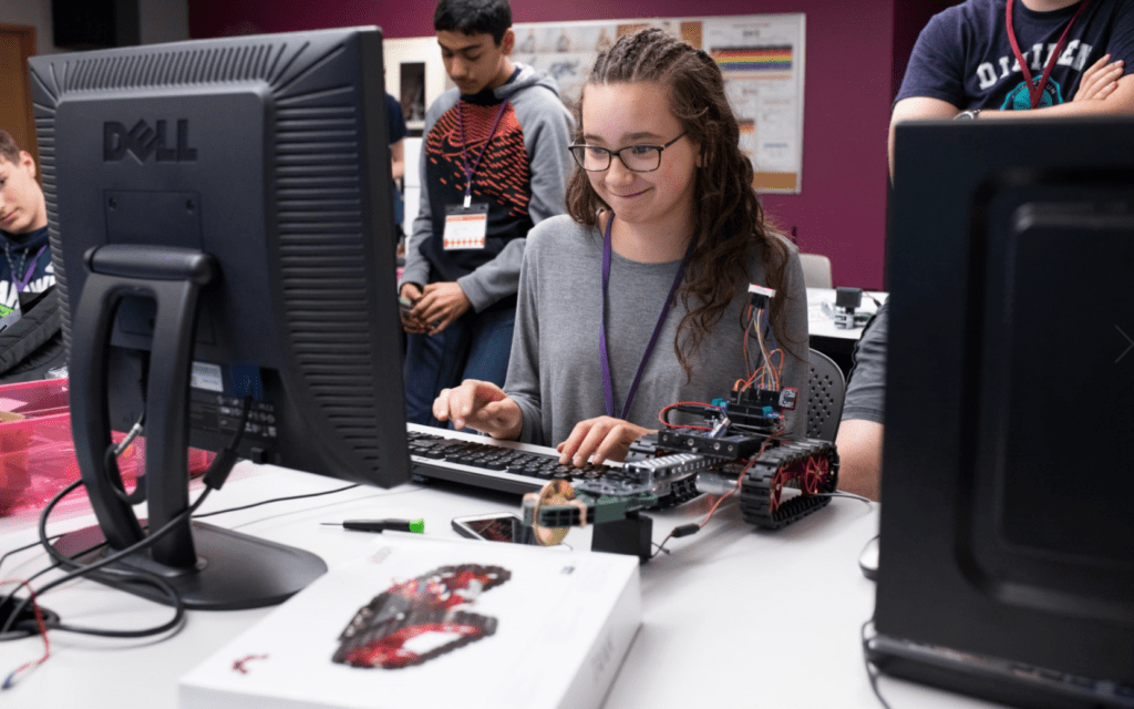 DigiPen Teen Summer Robotics Camp