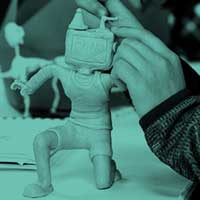 teen learning animation modelling